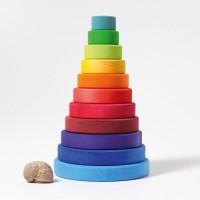 lasierte Scheiben Montessori